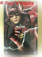 Hot Toys MMS 448 Justice League The Flash Ezra Miller 1/6 12 inch Figure NEW