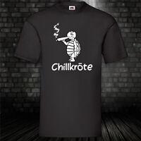 Chillkröte T-Shirt Weed Chill Shirt Marihuana Dope Funshirt Kult S-5XL