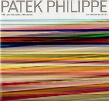 PATEK PHILIPPE MAGAZINE RIVISTA Magazin revista VOLUME III N # 1 uno inglese NUOVO