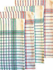 PREMIUM CATERER COTTON TEA TOWEL HEAVY DISH DRYING CLEANING CLOTH, 20 CLOTH PACK