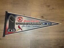 Boston Red Sox St. Louis Cardinals 2004 04 World Series MLB Baseball Pennant