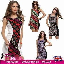 Women's Stretch, Bodycon Sleeveless Knee Length Everyday Dresses
