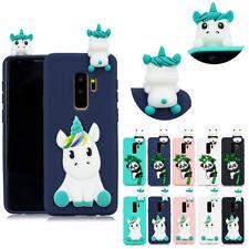 Adorable 3D Silicona TPU con dibujos de animales teléfono caso cubierta para Huawei Xiaomi iPhone