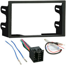CAR STEREO DOUBLE 2 DIN RADIO AUDIO DASH INSTALL TRIM KIT HARNESS FOR VOLKSWAGEN