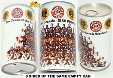 1980 Pittsburgh Steelers Team Portrait Decade Photo Beer Can Football Nfl Sports