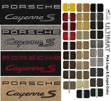 Lloyd Mats Porsche Cayenne S Double Logo Front Floor Mats (2003 & Up)