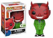 Funko Pop! El Diablo #03 ECCC Exclusive Limited Edition 3000 PCS
