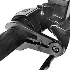Go Cruise 2 Universal Motorcycle Throttle Lock Cruise Control, Black Aluminum