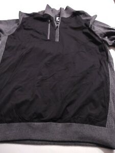 FOOTJOY Men's 1/4 Zip WOOL & NYLON L/S Sweater/Jacket