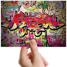 "Graffiti Wall Spray Paint Art Small Photograph 6""x4"" Art Print Photo Gift #8692"