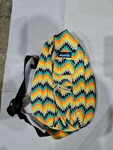 KAVU Original Rope Bag Cotton Crossbody Sling - Cactus Bloom large