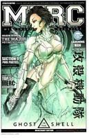 """JAMIE TYNDALL - GHOST IN THE SHELL MERC MAG ART PRINT SIGNED 11""""x17"""""""