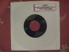Re 45 - FOUR SEASONS - Sherry b/w Walk Like A Man w/ strip NM audio