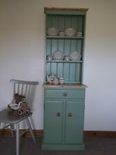 NEW SOLID PINE WELSH DRESSER NOT SHABBY CHIC FARROW AND BALL BREAKFASTROOM GREEN