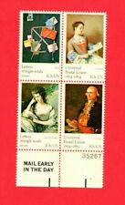 SCOTT # 1532-1533,1536-1537 UPU Cent. U.S. Stamps MNH - Plate Block of 4