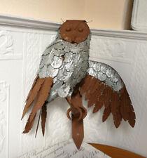 Wandfigur Eule Uhu Taubenschreck Taubenabwehr Vergrämung Vogel Reiher Figur Deko