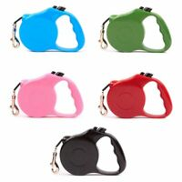 5M Automatic Retractable Traction Rope Walking Lead Leash for Pet Dog Cat Puppy