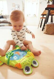 HABA Wasserspielmatte Bauernhof, Frosch, Babyspielzeug, Spielmatte
