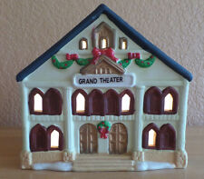 Musical and Lighted Grand Theatre Christmas House