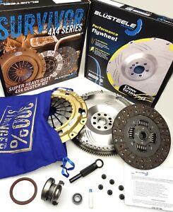 HEAVY DUTY clutch kit & SOLID mass flywheel for HYUNDAI iLOAD D4CB TDi 6 speed