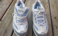 Skechers-Women-039-s-Leather-Shape-Ups-Size-9.5-Light-Blue-Accent     Skechers-W