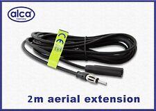 ALCA Alemania Coche Furgoneta Cable De Extensión De Antena Aérea Am Fm 2 M De Largo