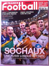 FRANCE FOOTBALL 20/04/2004; Sochaux/ Giuly/ Anigo/ 100 ans-100 bleus