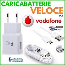 Cavo Micro USB per Vodafone Smart N9 N9 Lite Caricabatteria 1A Spina Presa Europea Adattatore USB