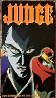 """Judge"" Anime VHS Unrated 1994 Japanese With English Subtitles US Manga Corps"