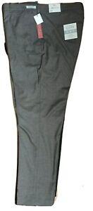 Perry Ellis Portfolio Dress Pants Grey Luxe 34/30, 34/29, 33/30, 42/32 - $119.00