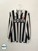 JUVENTUS 1991/92 Kappa Home Football Shirt M/L Mens Vintage Soccer Jersey