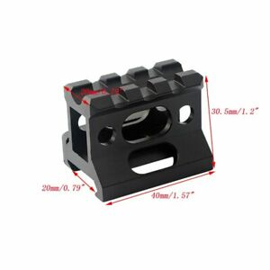 Hunting Scope Riser Mount Fit 20mm Picatinny Weaver Rail for Optic Red Dot Sight
