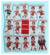 ABERDEEN FC ECWC LEGENDS OF 1982-83 COLLECTABLE CARD SET