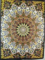Star Mandala Boho Psychedelic Decor Dorm Wall Hanging Posters/Tapestry Wall Art