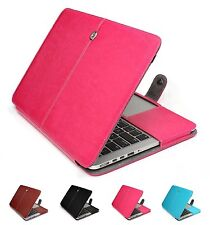 "Qualità Premium PU Pelle Skin Case Cover per MacBook Air Retina 11"" 12"" 13"" 15"