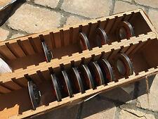 Rarest EVER 1975 unused NOS TANNOY 7900 0205 HF SILVER RED GOLD HPD speaker HF