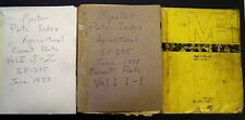 John Deere Master Parts Index Books and Obsolete Parts Index Manual