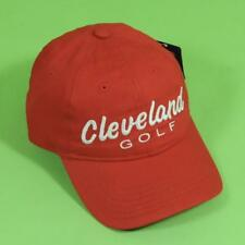 Genuine Cleveland Golf CG PRO Baseball Cap Red New