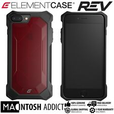 Element Case REV Slim Rugged Case For iPhone 7 PLUS RED | 10Ft/3M Drop Proof