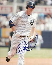 BRENNAN BOESCH NEW YORK YANKEES SIGNED AUTOGRAPHED 8x10 PHOTO W/COA