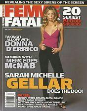 Femme Fatales Sarah Michelle Gellar Donna D'Errico Mercedes McNab NM
