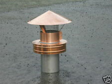 Custom Copper 10'' Class A Replacement Chimney Cap