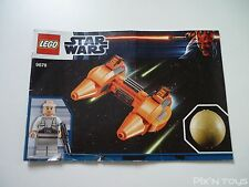 LEGO Notice Instruction / 9678 Star Wars Twin-pod Cloud Car & Bespin