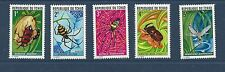 CHAD - 252 - 256 - MNH - INSECTS  -  1972