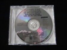 Elvis Costello and the Brodsky Quartet Excerpts From The Juliet  DJ Promo-CD