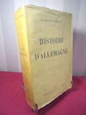 BONNEFON (Charles) HISTOIRE D'ALLEMAGNE