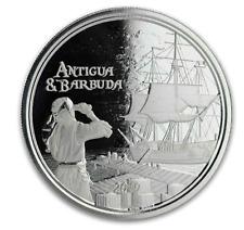 2019 silver 1 oz Antigua & Barbuda Rum Runner bullion coin new 2 Dollars $ rare