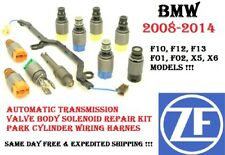 08-14 BMW F10 F12 F01 F02 X5 X6 Transmission Valve Body Repair Solenoid Kit ZF