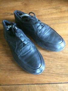 Stead and Simpson Black Lace-Up Shoes Size 9 With Shoe Trees