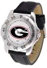 Georgia Bulldogs-Sport Mens Watch
